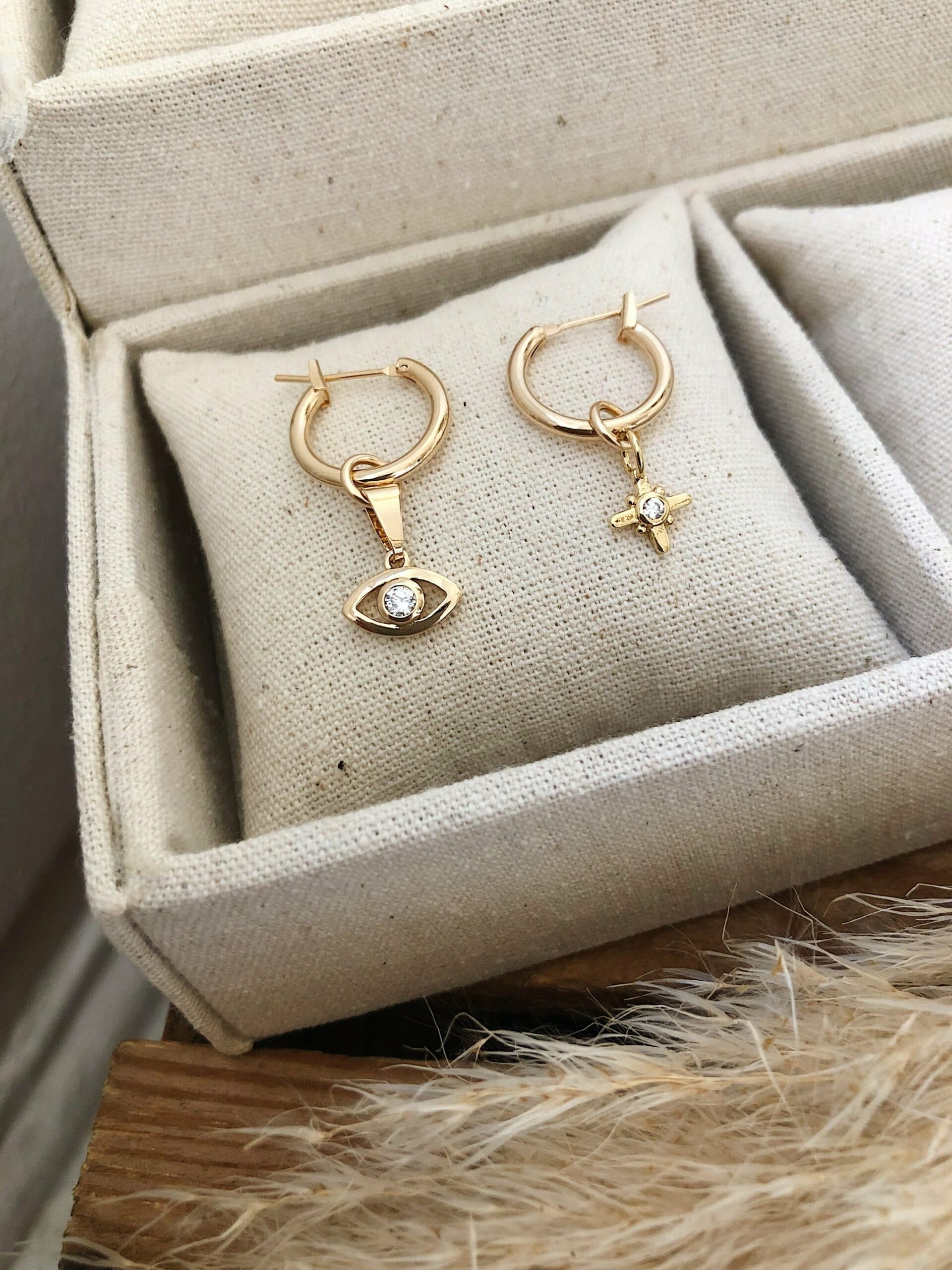 BOUCLES D'OREILLES STELLA & SEE YOU